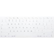 N18 Nálepky na klíče Apple - velká sada - bílé pozadí - 14:14mm
